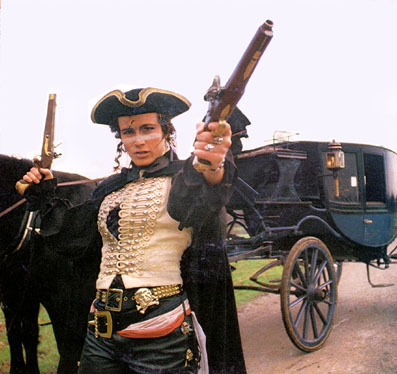 Adam Ant as the Dandy Highwayman